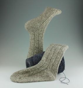 Handcranked Ragg Wool Socks