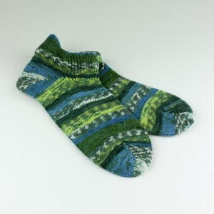 Handcranked Short Socks
