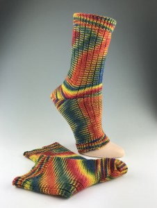 Hand-dyed Pedicure Socks